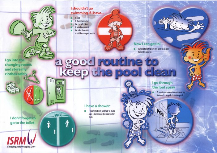 A good routine to keep the pool clean